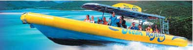 great berrier reef snorkeliing tours with ocean rafting